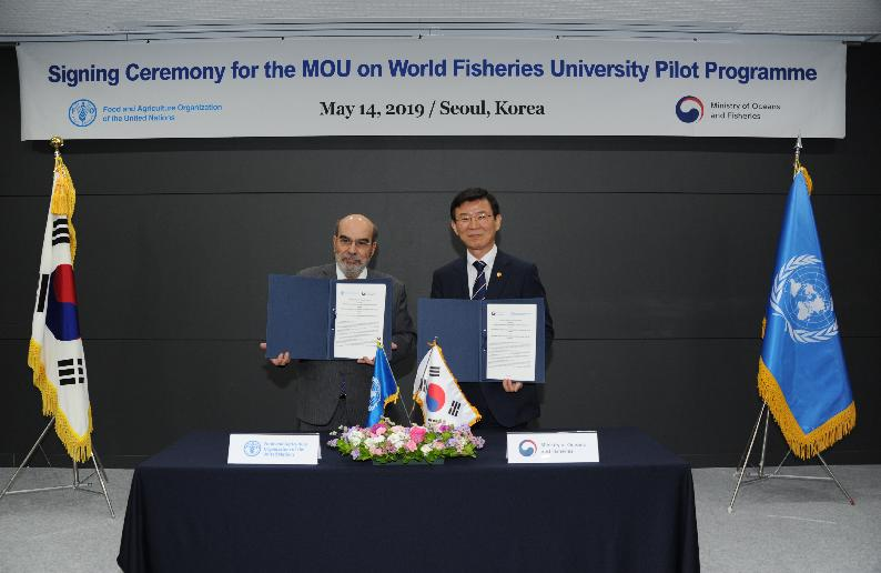 Signing Ceremony of the MOU on WFU Pilot Programme