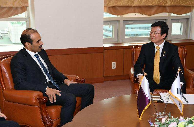 Meeting with Minister of State for Energy Affairs of Qatar